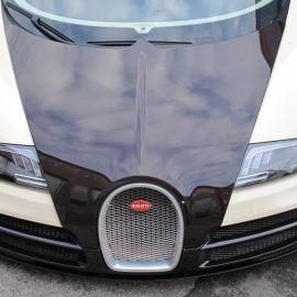 Bugatti Veyron, voll foliert