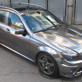 Chromfolierter Mercedes