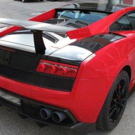 Lamborghini Gallardo-Teilfolierung schwarz,Steinschlagschutz