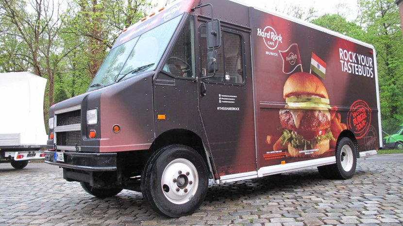 Food Truck - Komplettfolierung mit Digitaldruck