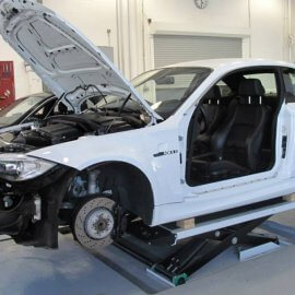 BMW 1er M - Vor dem Car Wrapping