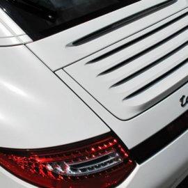 Porsche 997 4S Targa - Folierung in Weiß Watt