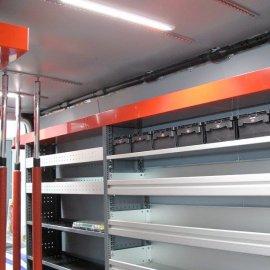 Sprinter - Vollfolierung, Beschriftung, Inneneinbau, PU-Beschichtung