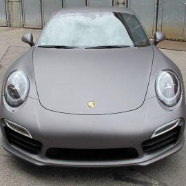 Porsche 991 - Vollfolierung, Charcoal matt metallic