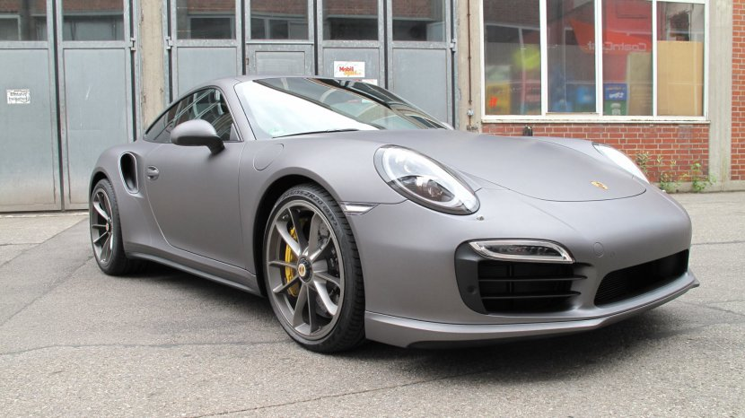 Porsche 991 - Vollfolierung, Charcoal matt metallic