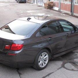 BMW, Vollfolierung, Black Pearl