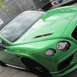 Bentley Continental Supersport: Steinschlagschutzpaket (Haube, Kotflügel, Stoßfänger vorn, Spiegel, Scheibenrahmen)