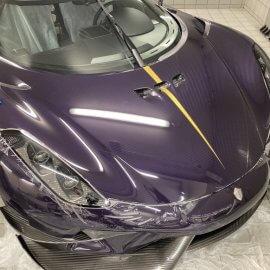 Koenigsegg Regera: Steinschlagschutzpaket (Haube, Stoßfänger vorn)
