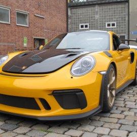 Porsche GT3RS Weissach: Steinschlagschutz komplettes Fahrzeug