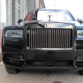 Rolls Royce Cullinan: Steinschlagschutzfolierung (Haube, Kotflügel, Stoßfänger vorn)
