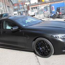 Getönte Scheiben für BMW
